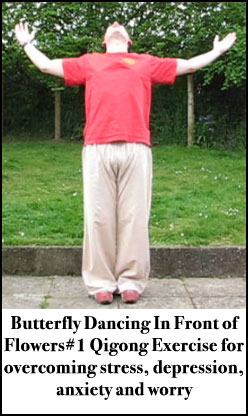 Best Qigong Exercises for overcoming depression this is butterfly dancing