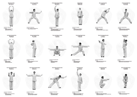 18 Qigong Exercises Known as 18 Lohan Hands