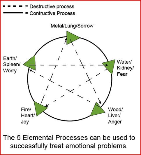 5 Elemental Processes