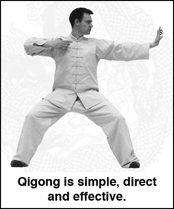 Qigong is a simple, direct and effective treatment for stress